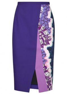 Shop on-sale Peter Pilotto Ria printed knitted skirt. Browse other discount designer Skirts & more on The Most Fashionable Fashion Outlet, THE OUTNET. African Fashion Skirts, African Print Fashion, Knit Skirt, Dress Skirt, Jupe Short, Printed Pencil Skirt, Mode Style, Skirt Outfits, Designing Women
