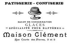 Patisserie-Confiserie-Printable-GraphicsFairy-2sm (400x249, 66Kb) Images Noêl Vintages, Images Vintage, French Typography, Typography Images, Typography Quotes, Graphics Fairy, French Friend, Etiquette Vintage, Old Paris