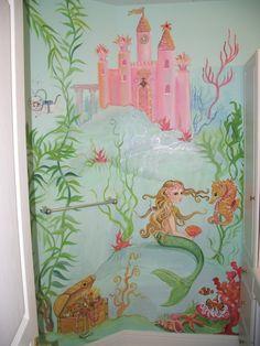 Estimate For Mermaid Mural, Mermaid Mural Painting, Custom Mermaid Wall  Art, Personalized Wall Art, Custom Murals, Under The Sea, Fish Art
