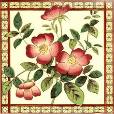 Historic Tiles - Victorian Tiles - Aesthetic Birds