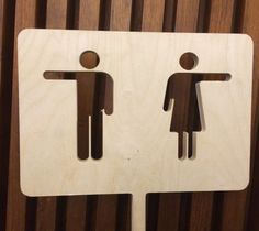 Restroom sign in New Zealand House, London. Simple and effective. Signage Board, Office Signage, Retail Signage, Directional Signage, Wayfinding Signs, Toilet Signage, Bathroom Signs, Restroom Signs, Sheet Metal Art