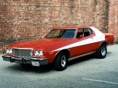 """Starsky & Hutch - Ford Gran Torino. The roof was cut and lowered 2"""" to give it a sleeker look."""