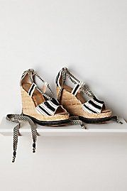 Trey Espadrille Wedges /