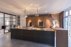 Luxe keuken met open industriële karakterHuis-inrichten.com | Huis-inrichten.com