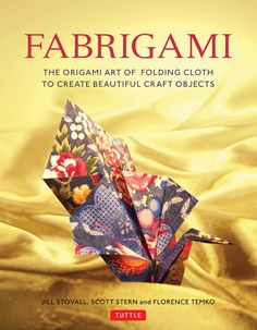 """Fabrigami is the art of folding beautiful fabrics to create three-dimensional objects ranging from the practical to the whimsical. Like paper, there are countless beautiful designs to choose from, and, unlike paper, fabric has the virtue of being extremely durable and useful in a wide range of applications. This book presents instructions on how to treat fabric so it holds its shape when folded, then provides a series of fun projects with easy-to-follow diagrams."