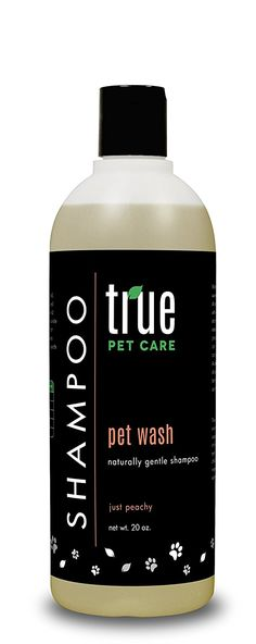 Pet Wash Just Peachy Naturally Gentle Shampoo >>> For more information, visit image link. (This is an affiliate link and I receive a commission for the sales) #Pets