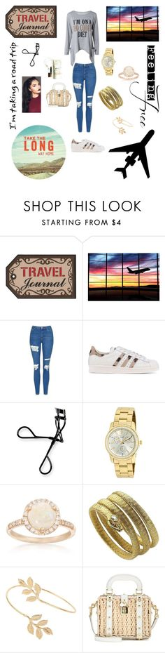 """Travel long ago"" by monrealgmarilyn ❤ liked on Polyvore featuring GET LOST, Topshop, adidas Originals, Bobbi Brown Cosmetics, Invicta, Ross-Simons, Miss Selfridge and Dolce&Gabbana"