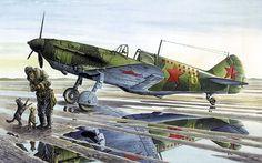 1942 LaGG series 35  Gerasim Grigoriev  11 victorias - Taras Shtyk - Roden