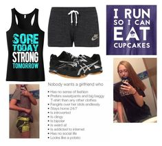 """""""Its about the journey. Let's make the journey together"""" by batman-lover-13 ❤ liked on Polyvore featuring NIKE and Asics"""