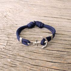 Maris Sal nautical paracord bracelet, by Maris Sal, $24.00 Waterproof bracelet for rock climbing, swimming, diving or sailing.