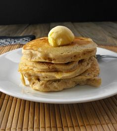 Caramel Apple Pancakes frugalanticsrecipes.com