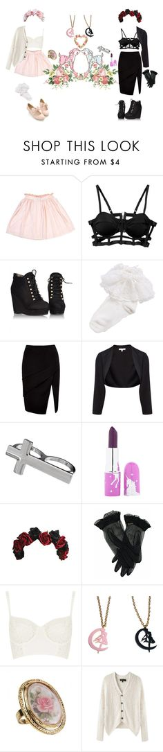 """Hot Date With A Rad Babe"" by ashleeritson ❤ liked on Polyvore featuring Limedrop, Forever New, Paule Ka, Lime Crime, Topshop, Usagi and rag & bone"