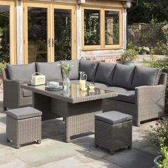 Keston Casual Dining Garden Furniture Cube Set Wyevale