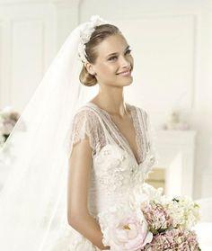 Pronovias presents the Denisse wedding dress. Elie by Elie Saab 2013.
