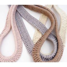 Estero Hand Woven Necklace by Zelma Rose   http://adorn-milk.com