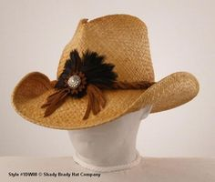8fcfab84986 Old Trading Post – Western Cowboy Straw Hat with Suede