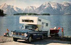 Dodge+Camper+Truck+Ad++Retro+Vintage+Car+by+SnowFireCandleCo,+$6.00