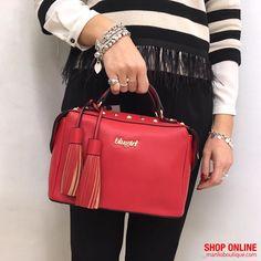 BLUGIRL manlioboutique.com/blugirl #bags #handbags #red