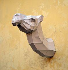 Stellen Sie Ihr eigenes Kamel Skulptur. Kamel von PlainPapyrus