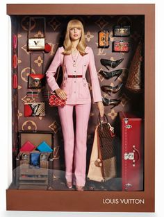 Panopolies Barbie Box Louis Vuitton