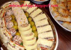 Tajni sastojak : POSNO HLADNO PREDJELO Appetizer Recipes, Soup Recipes, Cake Recipes, Dessert Recipes, Appetizers, Kitchen Recipes, Cooking Recipes, Croatian Recipes, Salty Snacks