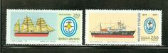 Argentina MNH Selections II: Scott #1244-1245 Navy Day Corvette Hydrography Ship Navy Day, Stamp Collecting, Postage Stamps, Corvette, Ship, Ebay, Collection, Argentina, Corvettes