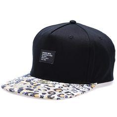 Stussy Wildlife Snapback Ballcap (Black)
