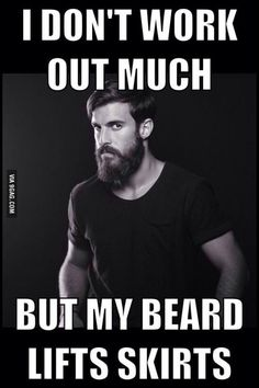 How I feel with a beard