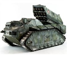 Warhammer 40K Forge World Custom Tank  -I miss being this nerdy
