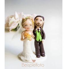 Individuelle+Tortenfigur+,+Hochzeitsfiguren+von++Fabulous+Funky++auf+DaWanda.com