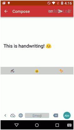 Google launched its latest project, Google Handwriting Input. Android users who are using Android 4.0.3 can now also use this old fashioned and good handwriting input text into any Android app.