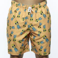 a707c071ad1d Men's Swim Trunks & Board Shorts - Margaritaville Apparel Store  Drawstring Waist, Patterned Shorts