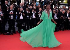Lupita Nyong'o in Gucci Photos - Opening Ceremony & 'La Tete Haute' Premiere - The 68th Annual Cannes Film Festival - Zimbio