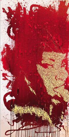 Galerie Onega - street art performance Paris   Artiste Jonas Sun7, France Titre:   Technique : Acrylique sur toile Format : 200 x 100 cm Année 2014