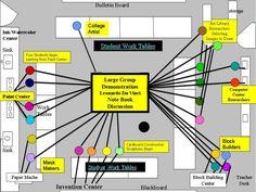 38 best teaching for artistic behavior tab images on pinterest transition to choice based art education classroom organizationart classroom layout malvernweather Choice Image