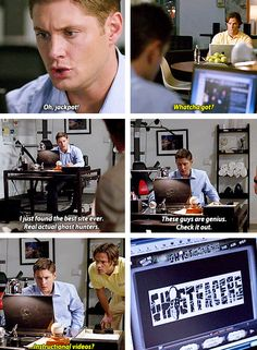 [gifset] 4x17 It's A Terrible Life starring Dean Smith and Sam Wesson XD