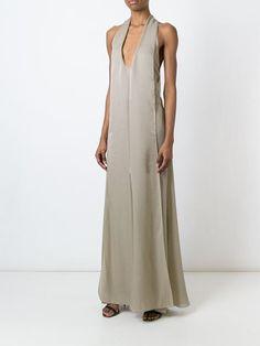 Chanel Vintage panelled evening dress