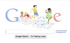 Martin Luther King Jr.~ This Google Doodle, displayed Jan. 17, features a group of children playing hopscotch — an homage to Martin Luther King Jr. Day.