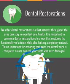 It is important to complete dental restorations in a way that restores the functionality of a tooth while also looking completely natural. #DentalRestorations #Dentist #NaturalTeeth #HealthySmile
