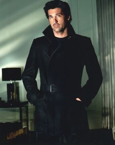 Patrick Dempsey! I've loved you since I watched my first episode of Grey's Anatomy!