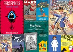 These graphic novel memoirs cover a range of compelling topics in a smart, creative style that will entertain and delight teens (and many an adult too).