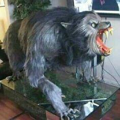 The Werewolf statue
