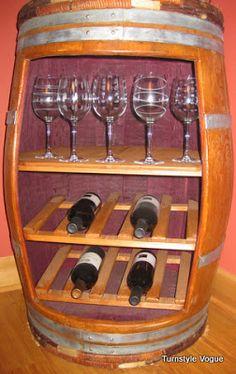 Fantastical Wine Barrel Racks | turnstylevogue.com