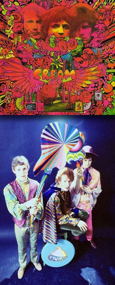 "Cream ""Disraeli Gears"" (1967) LP"