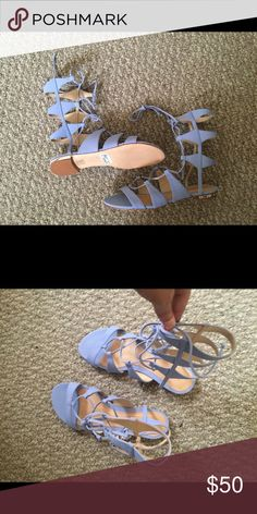 Schutz Erlina Bought these from free People but they don't match my wardrobe anymore. Never worn. They are new without the box. Free People Shoes Sandals