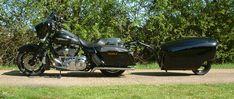 TourMAX Trailer on a 2010 Harley Davidson FLHX StreetGlide