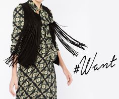 BSB #want Find the fringed lookbook vest online here >> http://bit.ly/1McqROg