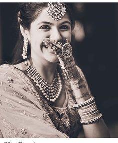 Photos Every Bride Must Have In Her Wedding Album-ShaadiMagic Bridal Poses, Bridal Photoshoot, Wedding Poses, Wedding Wear, Bridal Portraits, Wedding Bride, Wedding Mehndi, Wedding Girl, Wedding Couples
