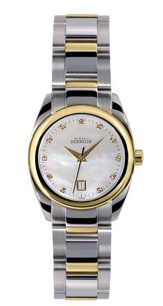 Women's Watches - Michel Herbelin Ladies Watch - Two tone Mother of Pearl Dial Ambassador 12828/BT59 - 2014 Specials for sale in Johannesburg (ID:181774510)