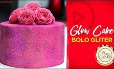 Glow Cake - Bolo Gliter Glitter Fade Nails, Glitter Toms, Glitter Cake, Glitter Paint, Glitter Eyeshadow, I Love Glitter Font, Glitter Letters, Glitter Cardstock, Bolo Glamour